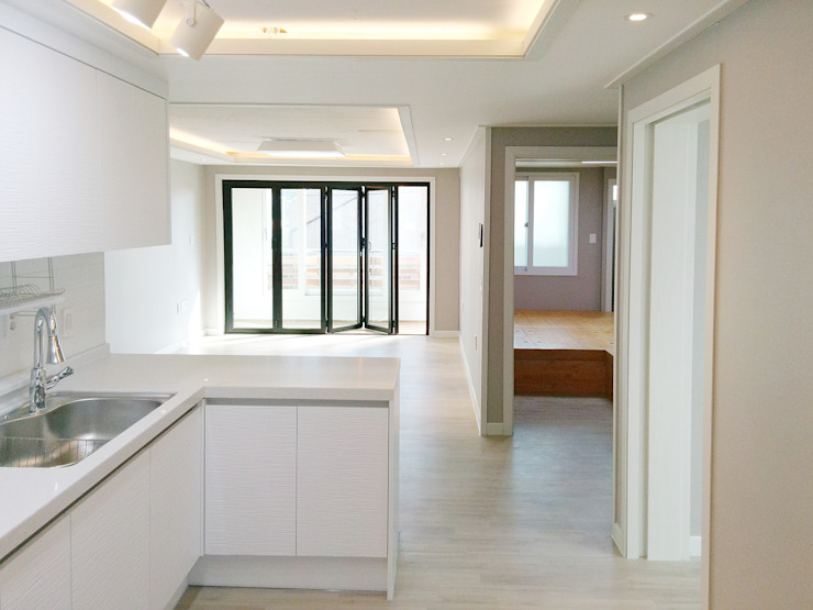 Modern Kitchen by 디자인팩토리9MM Modern