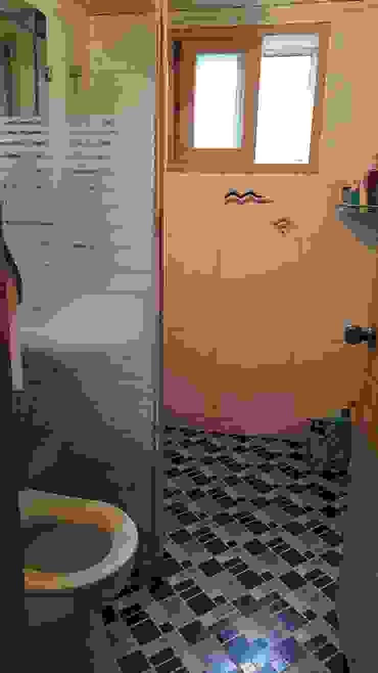 혜화동 빌라 리모델링 모던스타일 욕실 by 디자인팩토리9MM 모던