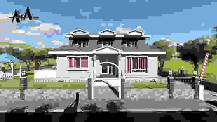 Rumah Modern Oleh alfa mimarlık Modern