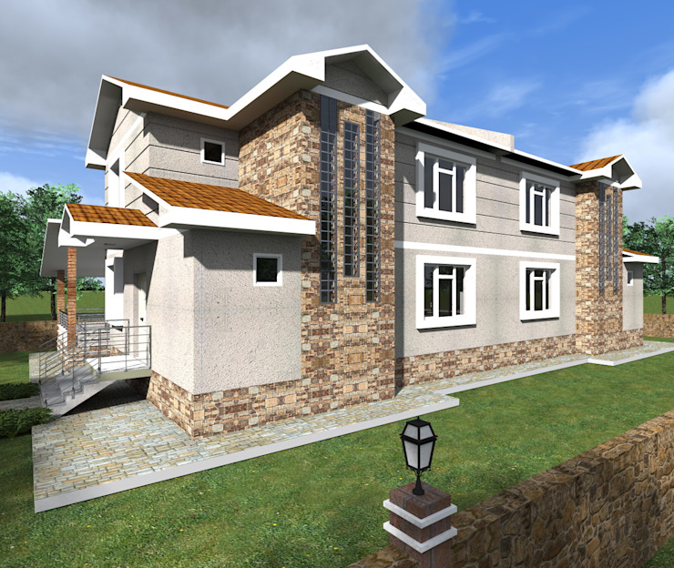 Can YAPI Modern Evler alfa mimarlık Modern