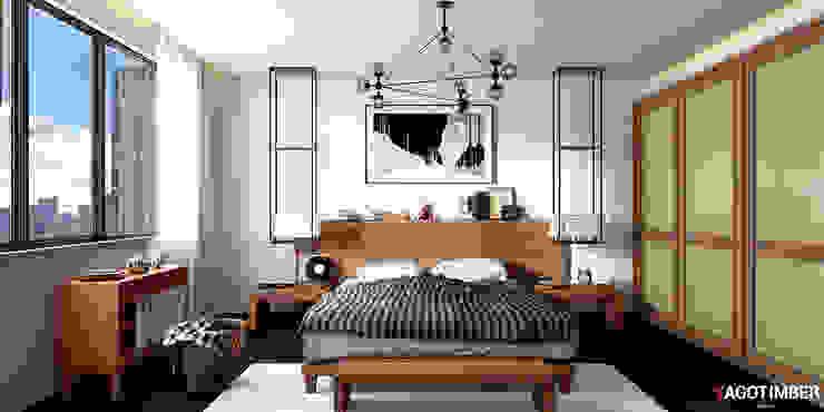 Bedroom 1: rustic  by Yagotimber.com,Rustic