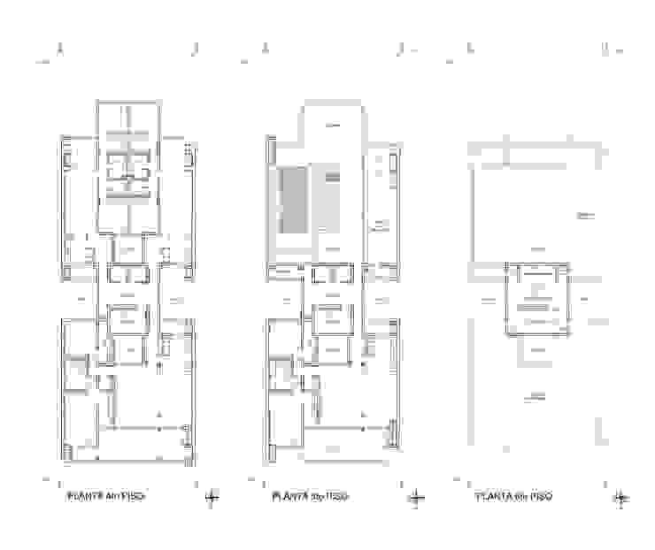 EDIFICIO BELGRANO CENTRO - Autores: Mauricio Morra Arq., Diego Figueroa Arq. y Arte de Dos Casas de estilo moderno de Mauricio Morra Arquitectos Moderno