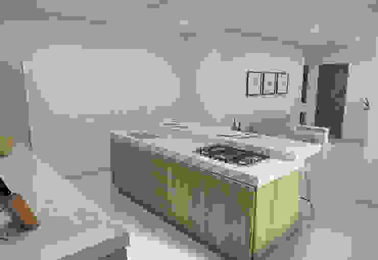 Filipe Castro Arquitetura | Design Minimalist kitchen Granite White