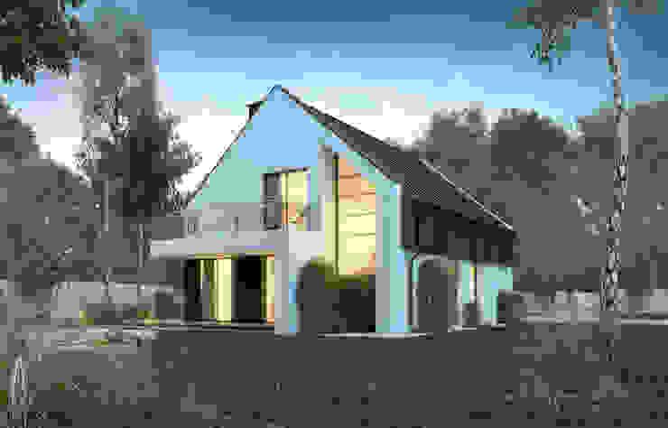 Дома в стиле модерн от ARCHI PL architekci SZYMON PLESZCZAK Модерн