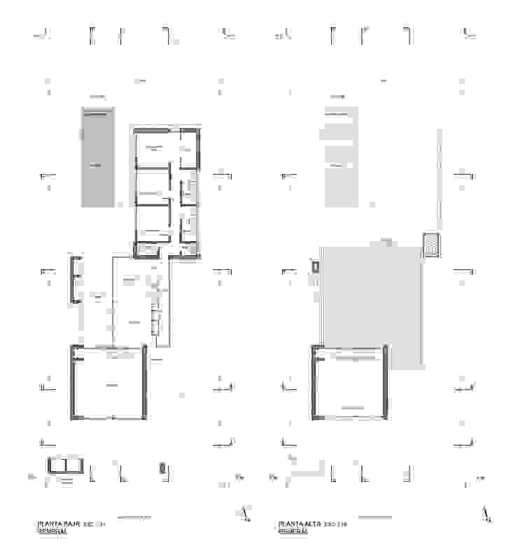 CASA DE PIEDRA - Autores: Mauricio Morra Arq., Diego Figueroa Arq. Casas modernas: Ideas, imágenes y decoración de Mauricio Morra Arquitectos Moderno