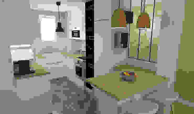 ML architecture d'intérieur et décoration 現代廚房設計點子、靈感&圖片