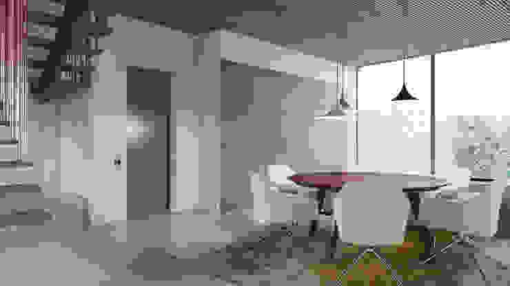 Modern Dining Room by destilat Design Studio GmbH Modern