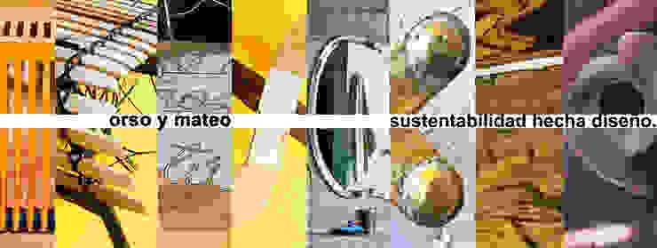 Orso y Mateo / Juan Carlos Loyo Arquitectura de Juan Carlos Loyo Arquitectura Clásico