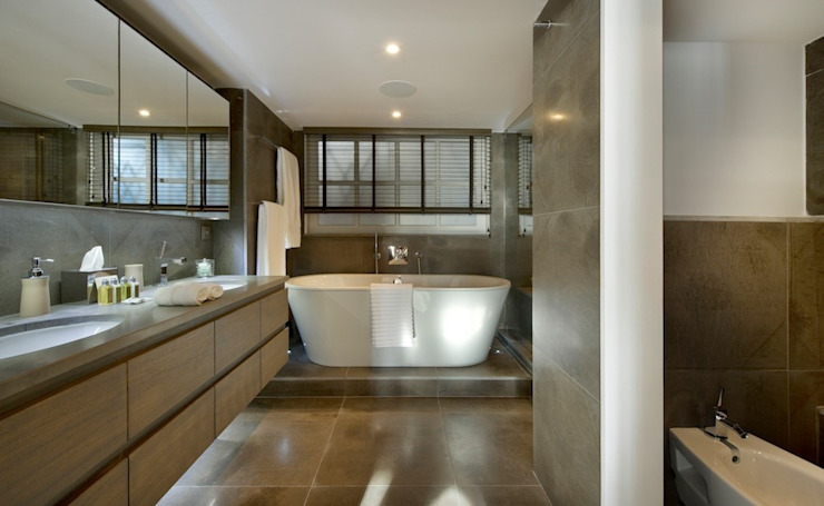 Bathroom de MN Design Moderno
