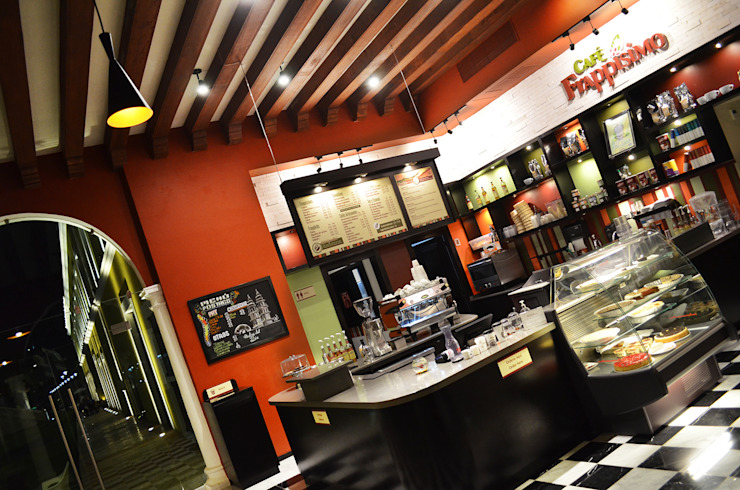 Café Frappisimo Gastronomía de estilo colonial de Workshop, diseño y construcción Colonial