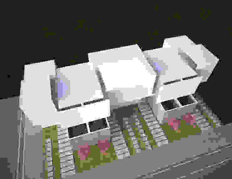 Vivienda minimalista, proyecto para Maruz, casas para venta en infonavit Casas minimalistas de Element+1 taller de arquitectura Minimalista Concreto