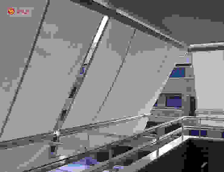 Toldo de Proyección Balcony de Vertilux México Moderno Textil Ámbar/Dorado