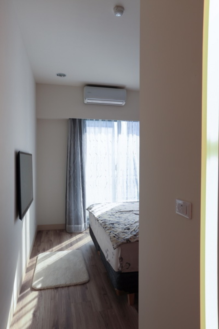 Moderne Schlafzimmer von 微自然室內裝修設計有限公司 Modern