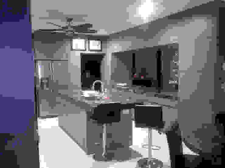 CASA BALLENA Cocinas modernas de Diseño Aplicado Avanzado de Guadalajara Moderno