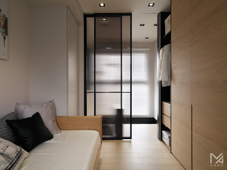 Modern style bedroom by 沐朋設計 Modern
