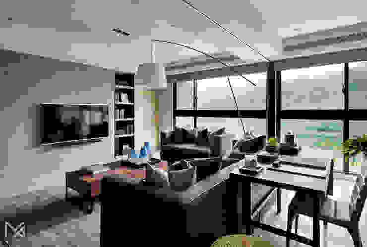 土城-董宅 Modern living room by 沐朋設計 Modern