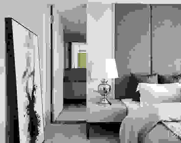 土城-董宅 Modern Bedroom by 沐朋設計 Modern