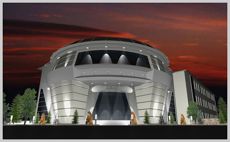 E.BİLECİK KONFERANS SALONU Modern Art Mimarlık