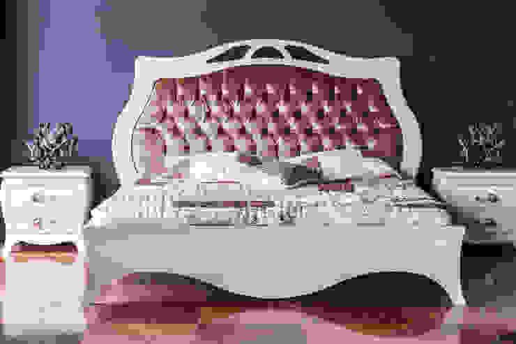 Rose Gold Gracious Luxury Interiors 臥室 Pink