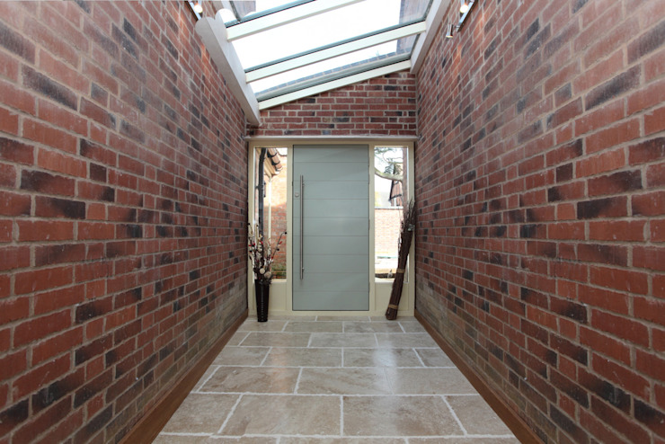Cobblestone Barn Modern windows & doors by Simplicity Timber Solutions Ltd Modern Wood Wood effect