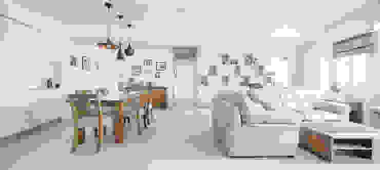唯創空間設計公司 Scandinavian style living room