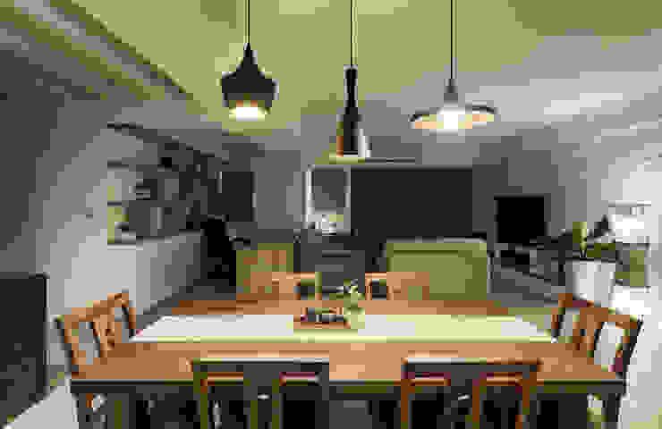 唯創空間設計公司 Scandinavian style dining room