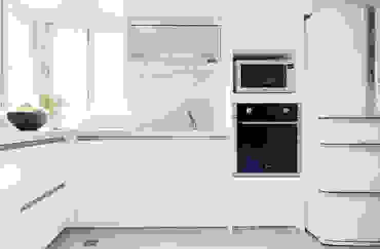 唯創空間設計公司 Scandinavian style kitchen