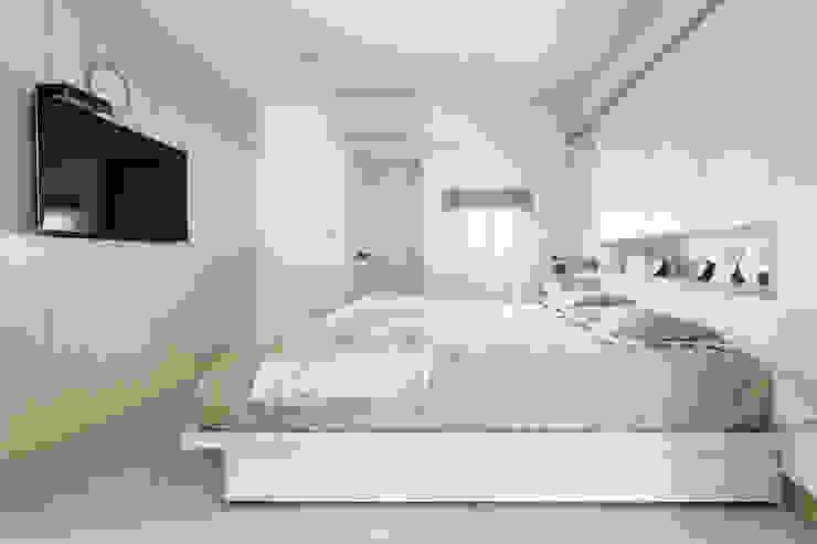 唯創空間設計公司 Scandinavian style bedroom