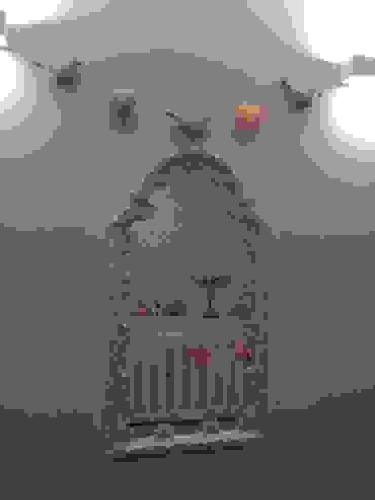 O quarto da bebé B por By Mom Moderno