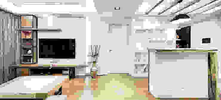 唯創空間設計公司 Modern living room