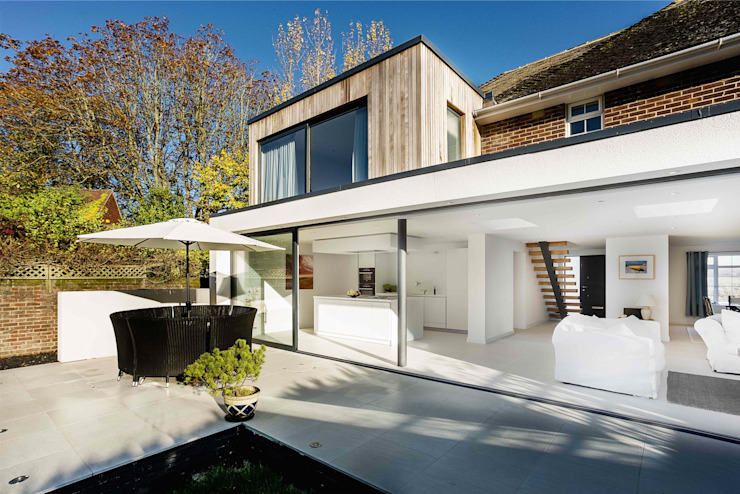 The Beckett House Modern houses by Adam Knibb Architects Modern