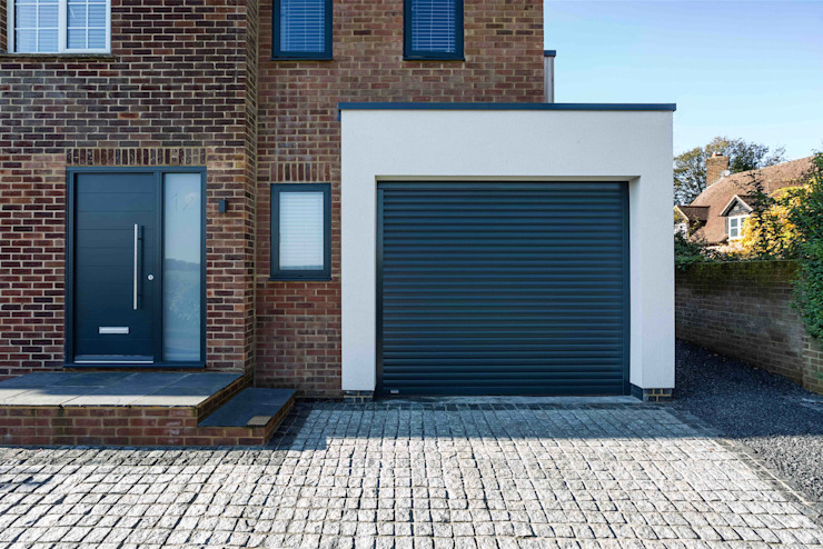 The Beckett House Modern Garage and Shed by Adam Knibb Architects Modern