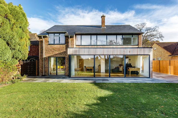 Poplar Road Modern houses by Adam Knibb Architects Modern