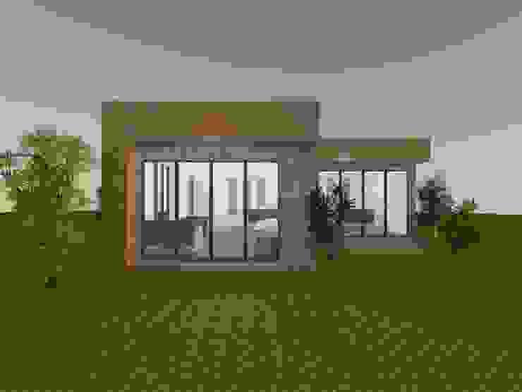 ออฟฟิศแนว Loft สไตล์โมเดิร์น โดย Able Build Construction