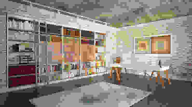 RayKonsept – Kitaplık Modelleri: modern tarz , Modern