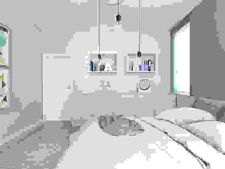 Спальня в стиле модерн от PASS architekci Модерн
