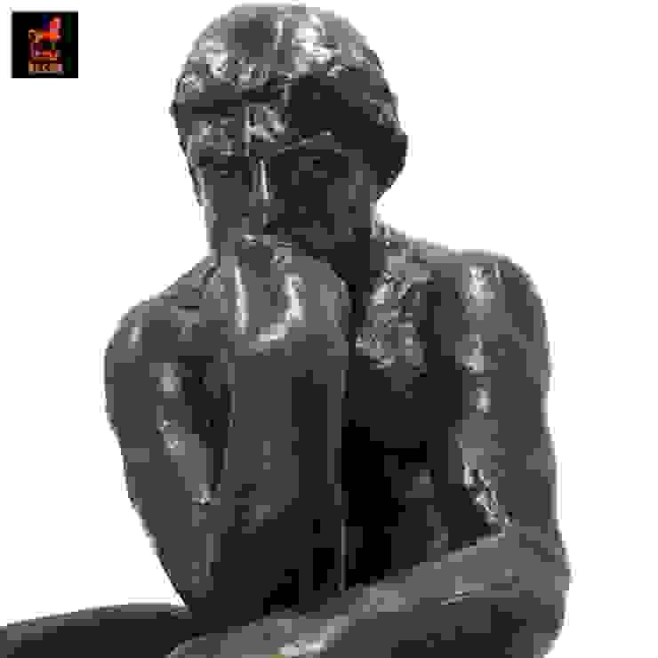 รูปปั้นทองเหลืองนักคิดรีโปรดักซศิลปินโอกุสต์ รอแด็ง โดย 1STEP DECOR