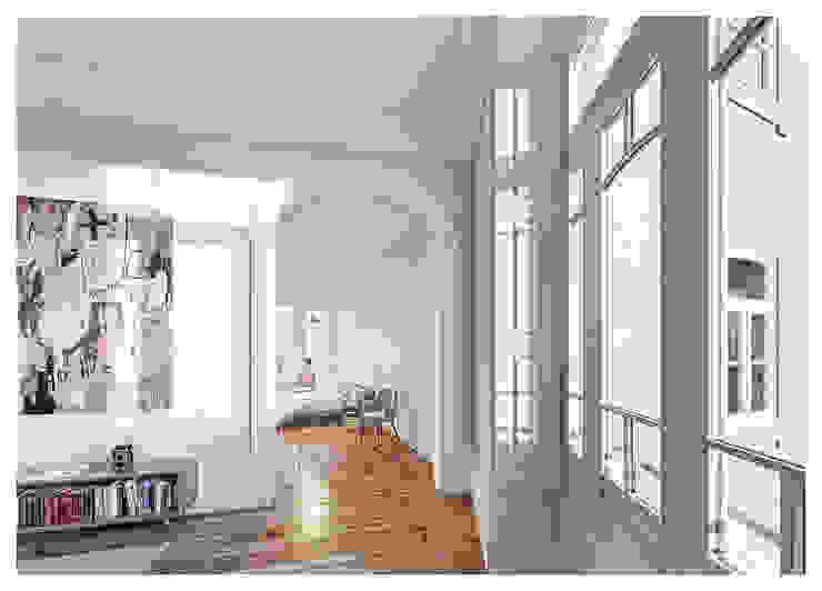 1610H mah Quartos modernos por Jj Soares arquiteto Moderno