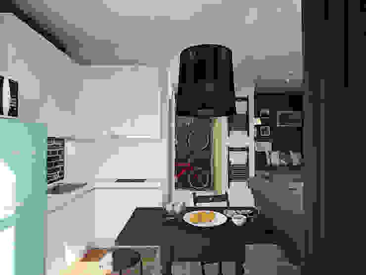 Small Smail Кухня в скандинавском стиле от MAD Скандинавский