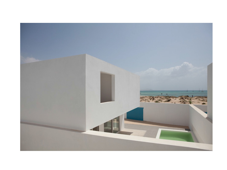 Boa Vista Casas minimalistas por Nuno Almendra Minimalista
