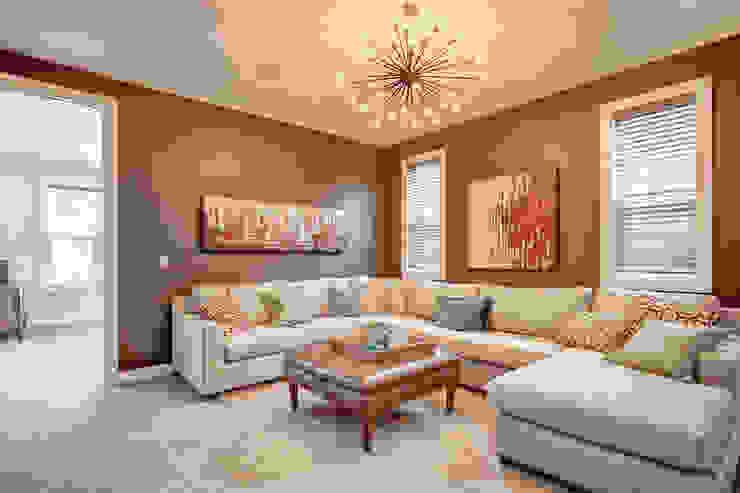 354 Sherwood Blvd Modern living room by Sonata Design Modern