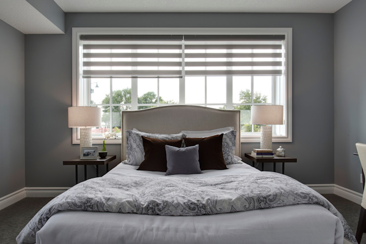 12 Tommy Prince Road SW Modern style bedroom by Sonata Design Modern