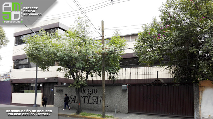 Antes de la remodelación. Casas modernas de PM ARQUITECTURA Y DISEÑO, S.A. DE C.V. Moderno