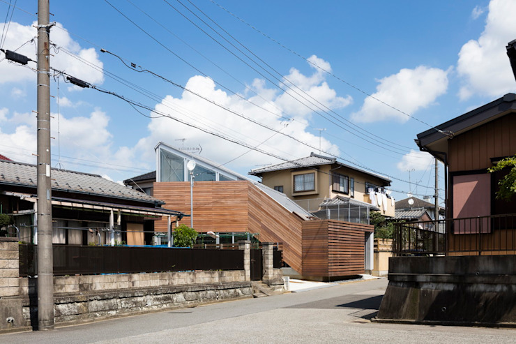 Eclectic style houses by ジャムズ Eclectic Wood Wood effect