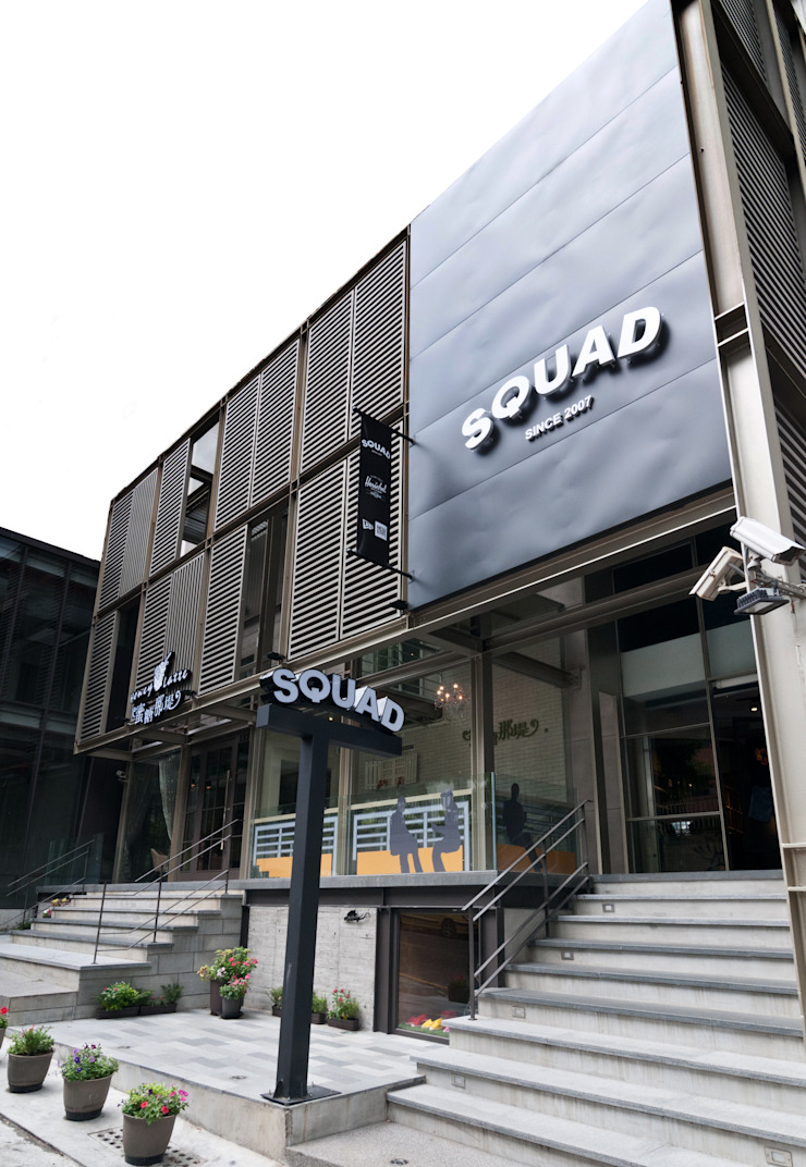 水泥混搭 美式工業風-台南SQUAD旗艦店 根據 光島室內設計 工業風