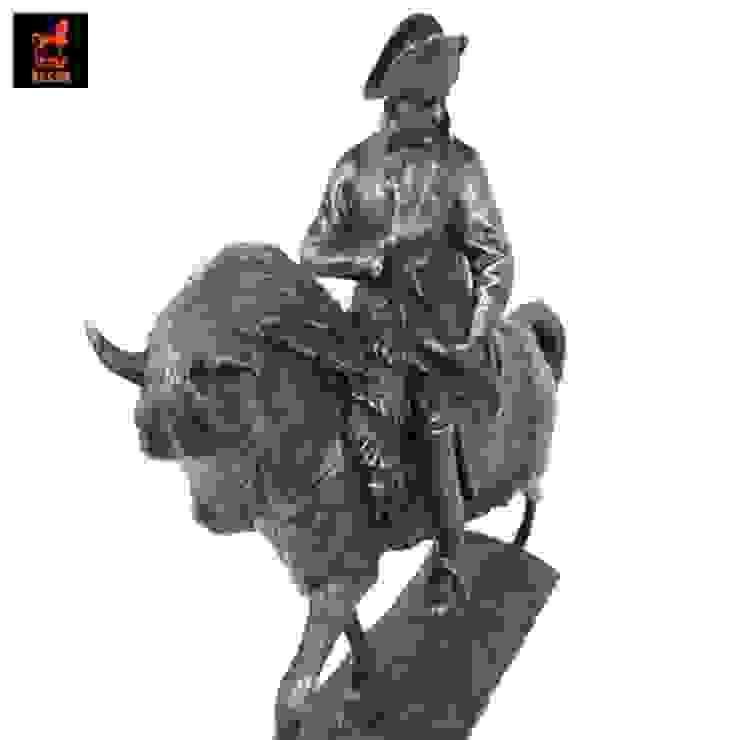 รูปปั้นทองเหลืองนโปเลียน โบนาปาร์ตขี่ม้า(Napoleon riding horse) โดย 1STEP DECOR
