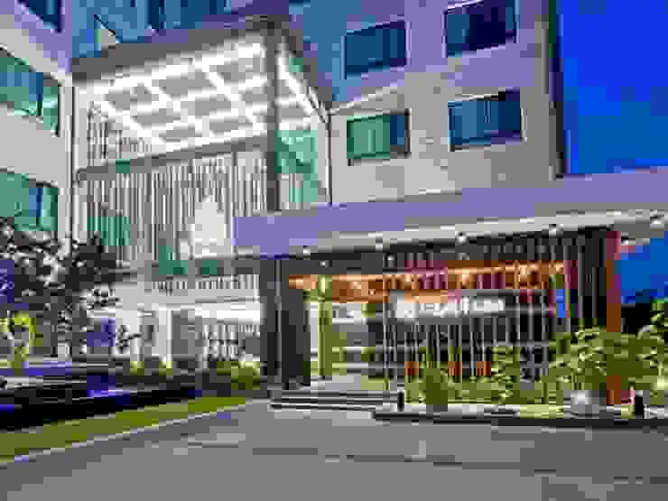 仁義湖岸大酒店 根據 延伸建築 室內設計 EXTENSION DESIGN STUDIO 現代風 大理石