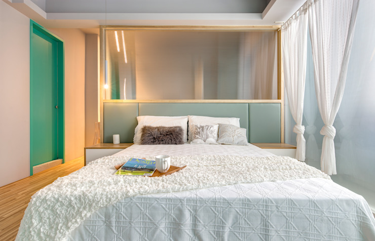 Bedroom by 磨設計, Eclectic