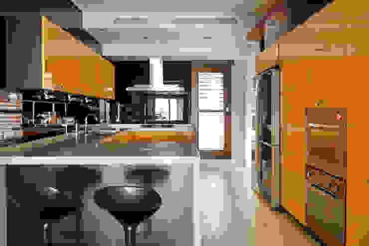 光島室內設計 Cuisine minimaliste