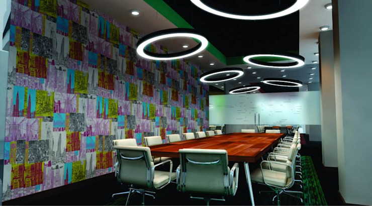Corporate Office Installation by HEID Interior Design Minimalist